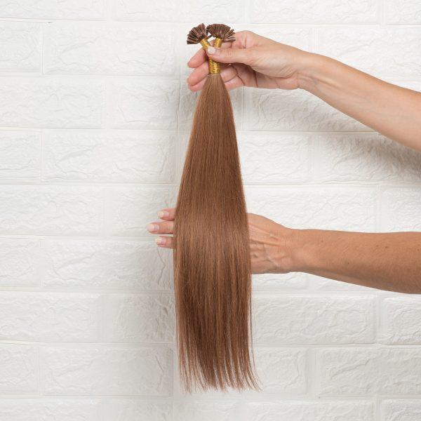 Hair Extensions U-Tip Ίσια 50 εκατοστά Χάλκινο