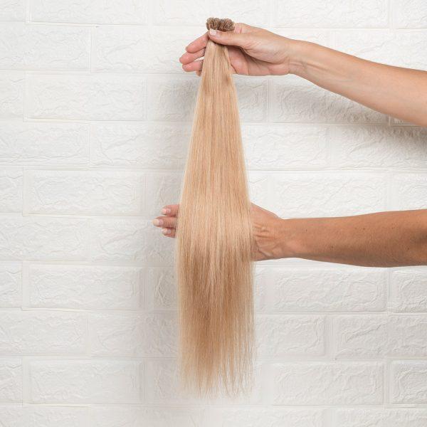 Hair Extensions U-Tip Ίσια 55 εκατοστά Ξανθό Φυσικό